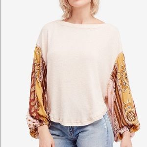 Free People blossom top